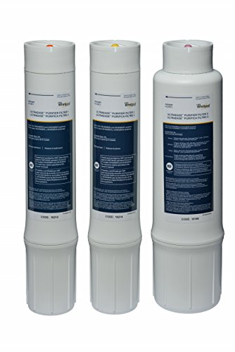 WHAROS5 /& WHER25 Filtration Systems|Easy To Replace UltraEase Filter Cartridges Extra Long Life 1 Filter Whirlpool WHEERM Reverse Osmosis Replacement Membrane|Fits WHAPSRO